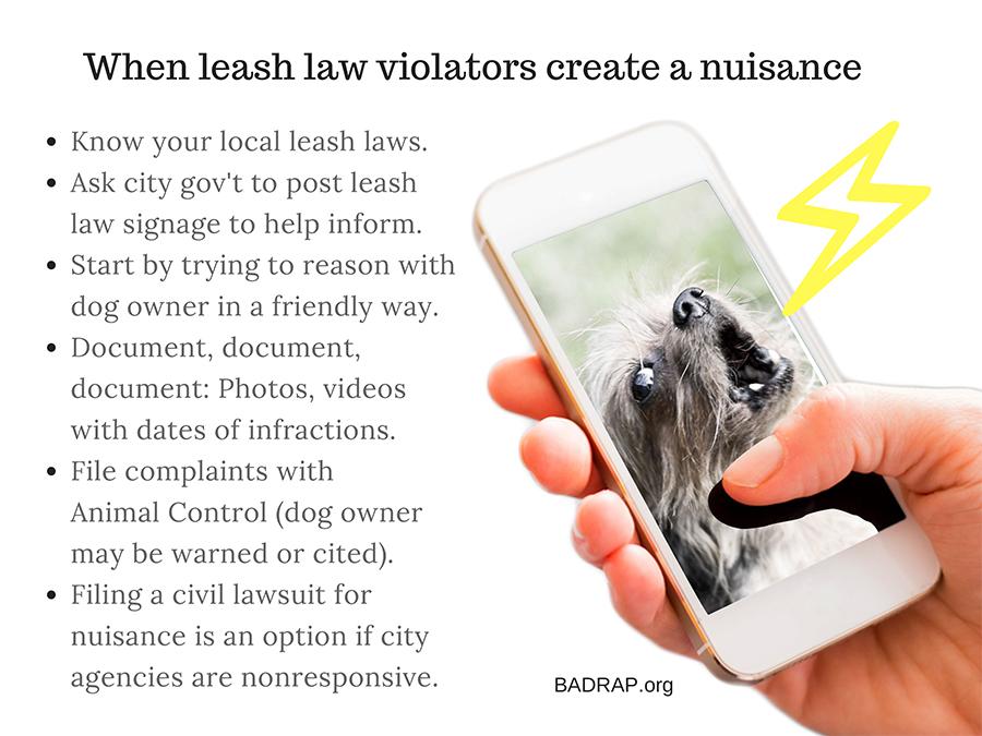 Dog Law & Dog Owner Rights   BADRAP
